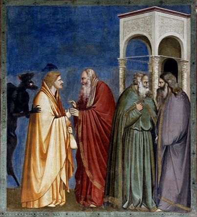 Judas_being_paid_-_Capella_dei_Scrovegni_-_Padua_2016