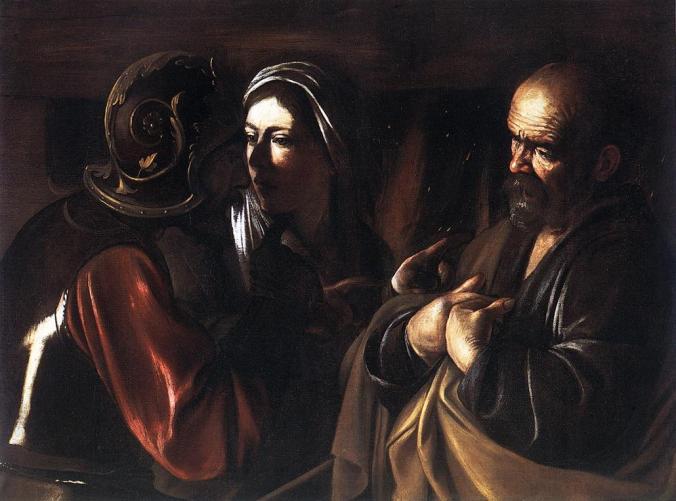 Caravaggio_denial